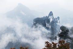 Montanha de Zhangjiajie Fotos de Stock Royalty Free