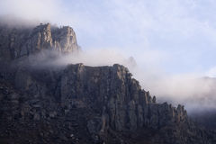 Montanha Demerdzhi, Crimeia, Ucrânia Fotografia de Stock