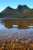 Montanha do berço e lago dove Imagem de Stock Royalty Free