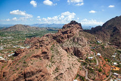 Montanha do Camelback Imagem de Stock