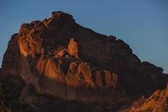 Montanha do Camelback no nascer do sol imagem de stock