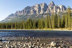 Montanha do castelo Fotografia de Stock Royalty Free