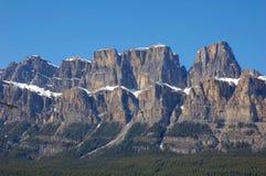 Montanha do castelo Foto de Stock Royalty Free