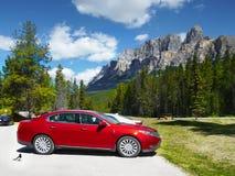 Montanha do castelo, parque nacional de Banff imagem de stock royalty free