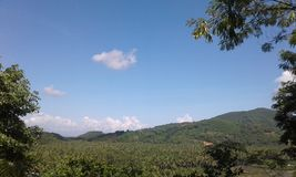 Montanha do coco Fotos de Stock Royalty Free