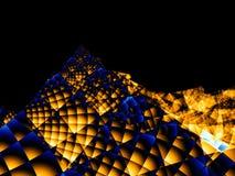 Montanha do Fractal Imagens de Stock