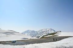 Montanha do gelo em Japão Imagens de Stock