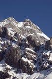 Montanha do inverno Imagens de Stock