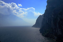 Montanha do lago landscape Fotografia de Stock Royalty Free