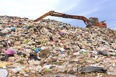 Montanha do lixo fotos de stock