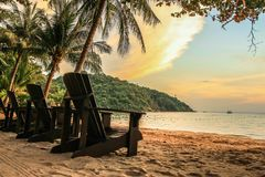 Montanha do mar da estância de verão Fotografia de Stock Royalty Free
