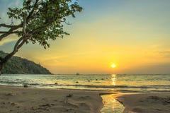 Montanha do mar da estância de verão Imagem de Stock Royalty Free