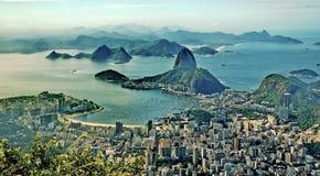 Montanha do naco do açúcar em Rio Imagens de Stock Royalty Free