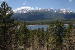 Montanha do parque dos piques Fotos de Stock Royalty Free