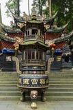 Montanha do qingcheng de Sichuan igualmente conhecida Imagem de Stock Royalty Free