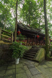 Montanha do qingcheng de Sichuan igualmente conhecida Foto de Stock Royalty Free