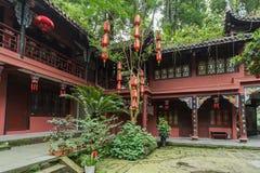 Montanha do qingcheng de Sichuan igualmente conhecida Fotos de Stock