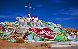 Montanha do salvação, Niland, Califórnia Fotos de Stock