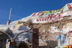 Montanha do salvação, Niland, Califórnia Foto de Stock