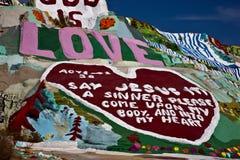 Montanha do salvação, Niland, Califórnia Imagem de Stock