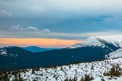 Montanha do ucraniano de Goverla Fotos de Stock Royalty Free