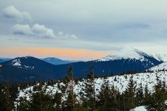 Montanha do ucraniano de Goverla Imagens de Stock Royalty Free