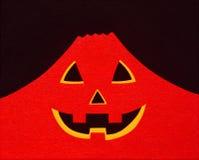 Montanha do vermelho de Dia das Bruxas fotografia de stock royalty free
