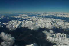 Montanha dos alpes Fotografia de Stock Royalty Free