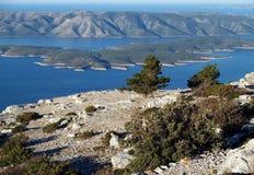 Montanha dos alpes Imagens de Stock Royalty Free