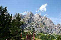 Montanha dos cumes Fotografia de Stock