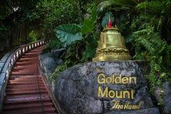 Montanha dourada Imagens de Stock