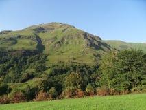 Montanha e erosão Fotografia de Stock