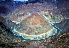 Montanha e rios imagem de stock royalty free
