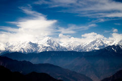Montanha elevada Foto de Stock Royalty Free