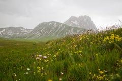 Montanha em Abruzzo Foto de Stock