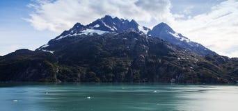 Montanha em Alaska foto de stock