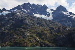 Montanha em Alaska imagem de stock