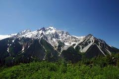 Montanha em equipar o parque imagem de stock
