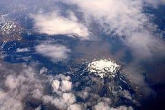 A montanha em Islândia foto de stock