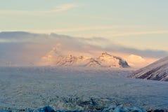 Montanha em Islândia do sul Fotos de Stock