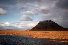 Montanha em Snefellsnes Fotografia de Stock