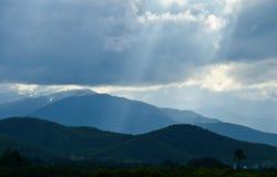Montanha em Tailândia Imagens de Stock