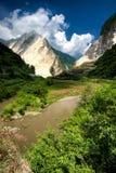 Montanha em Ya'an Fotos de Stock