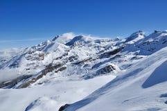 Montanha em Zermatt, Switzerland de Matterhorn Foto de Stock