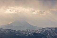 Montanha enevoada imagem de stock royalty free