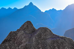 Montanha espelhada Fotos de Stock Royalty Free