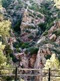 Montanha exterior das árvores Fotos de Stock Royalty Free