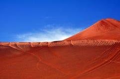 A montanha flamejante Foto de Stock