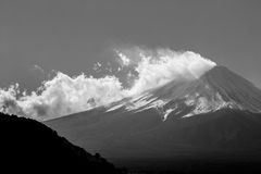 Montanha Fuji em Japão Fotografia de Stock