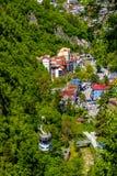 Montanha funicular fotografia de stock royalty free